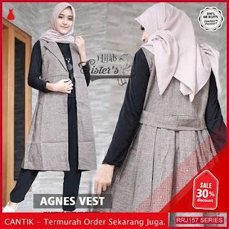 Jual RRJ157O254 Outerwear Agnes Vest Wanita St Terbaru Trendy BMGShop