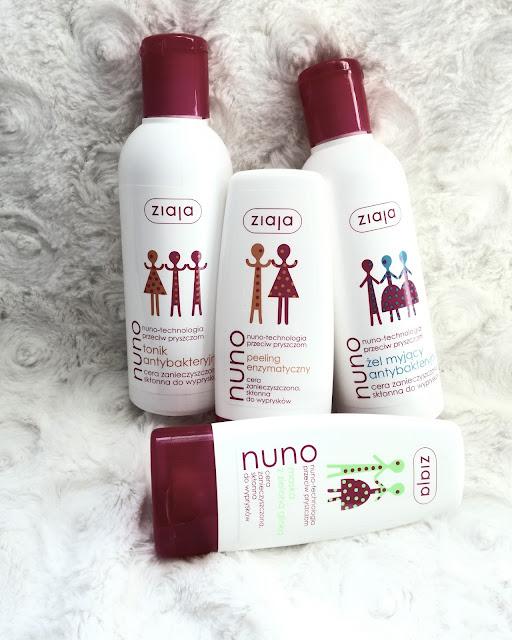 Seria Nuno od firmy Ziaja