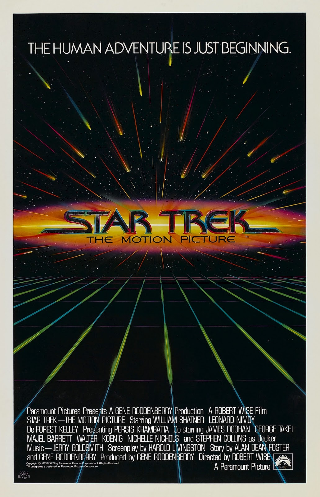 the geeky nerfherder movie poster art star trek the motion picture 1979. Black Bedroom Furniture Sets. Home Design Ideas