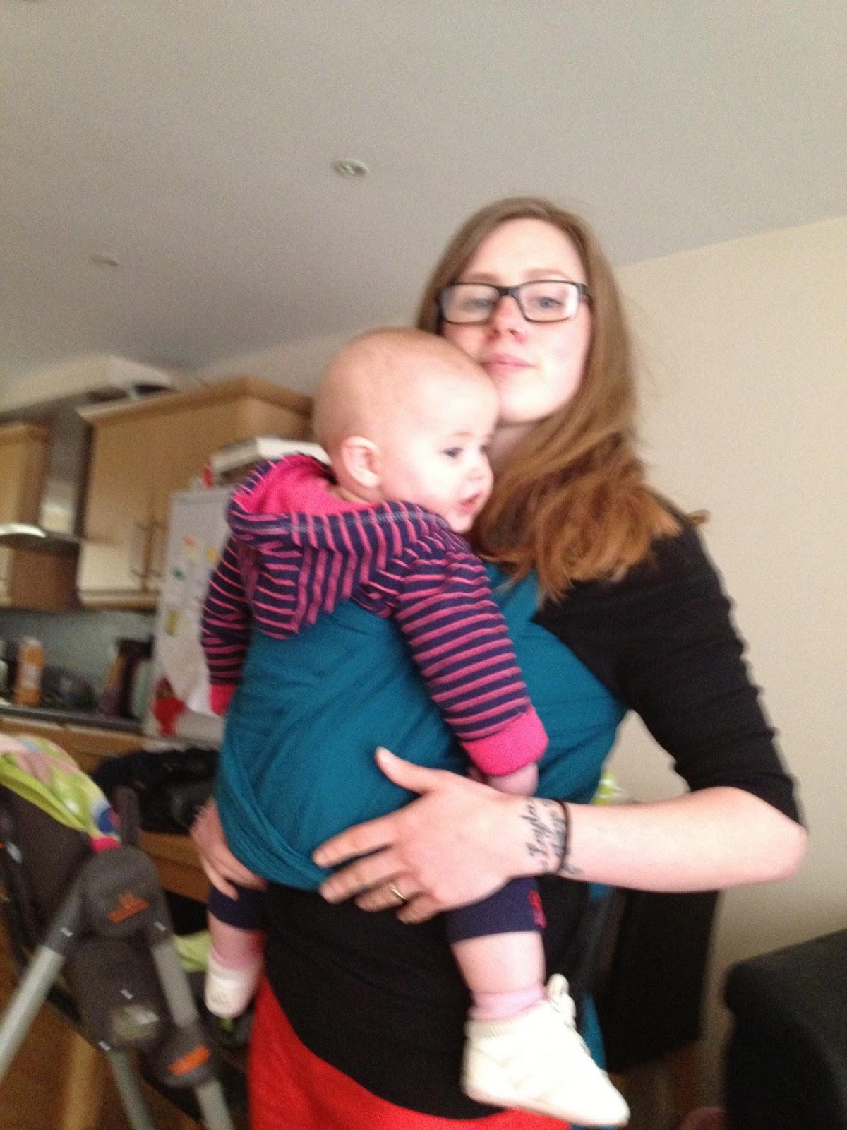 Mama Mummy Mum Calin Bleu Gauze Wrap Review