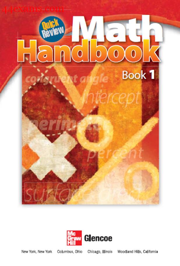 Math Handbook : For All Competitive Exam PDF Book