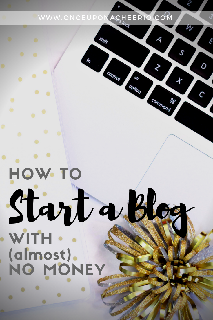 How to Start a Blog with Almost No Money