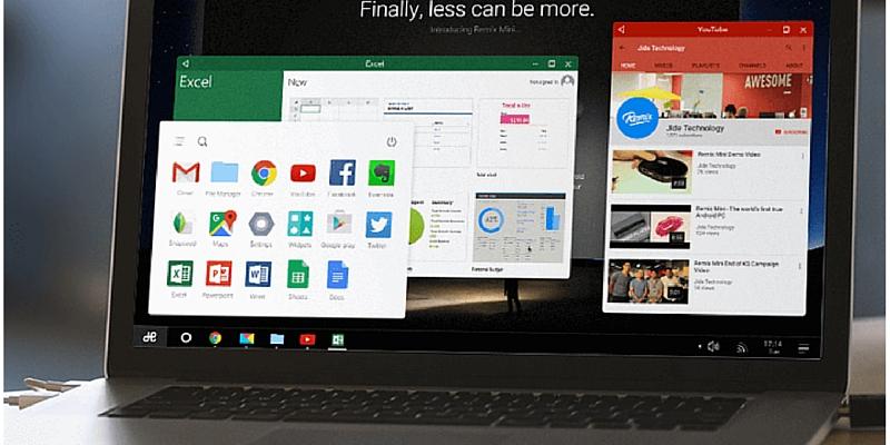 نظام التشغيل 2.0 Remix OS الجديد: اندرويد على الحاسوب مجانا