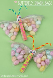Butterfly Craft Snack Bags