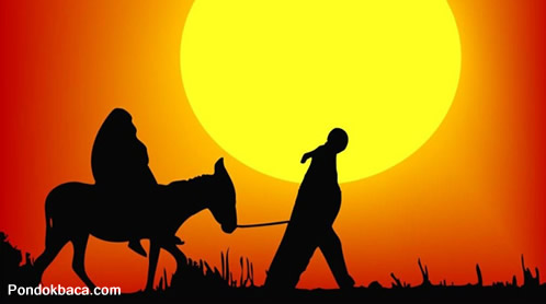 Kisah Seekor Keledai dan Tuannya