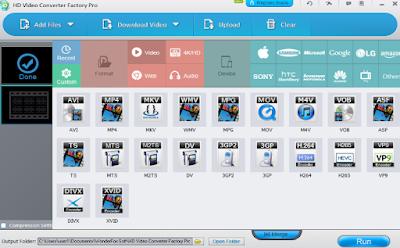 HD Video Converter Factroy Pro