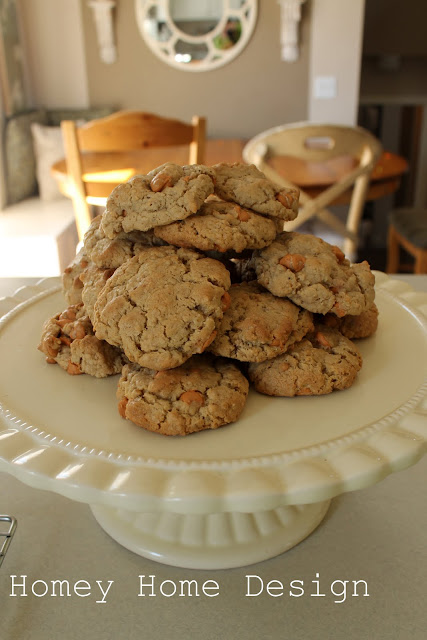 Homey Home Design Oatmeal Butterscotch Cookies