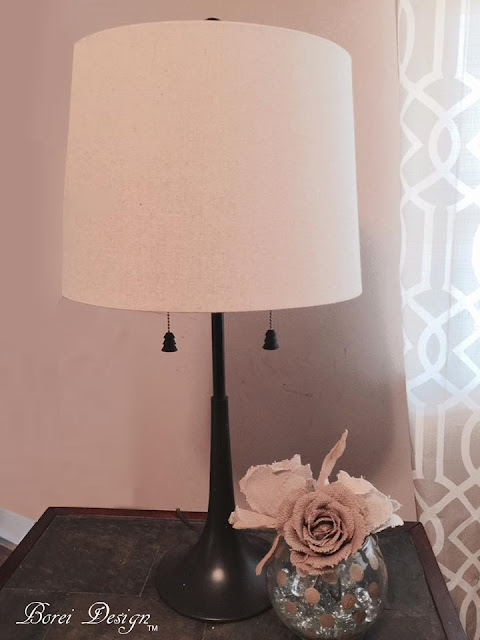 DIY Thrift Store Lamp Makeover Tutorial How To Replace Permanent Shade Make Finial
