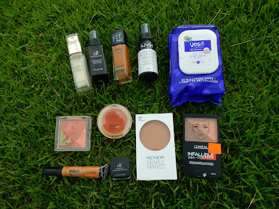 Moden Makeup Weekly Challenge 1 - Face Products - www.modenmakeup.com