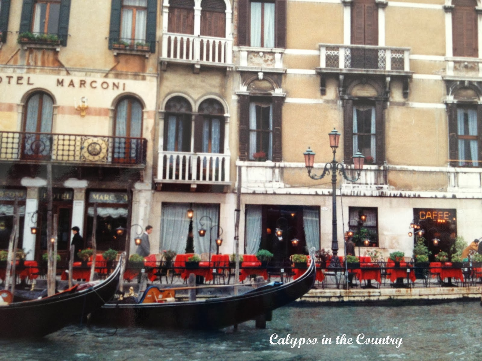 Venice Italy and Favorite Romantic Comedies