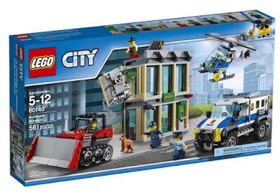 JUGUETES - LEGO City  60140 Huida con Bulldozer  Producto 2017 | Piezas: 561 | Edad: 5-12 años  Comprar en Amazon España