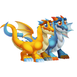Appearance of Twin Dragon when teenager
