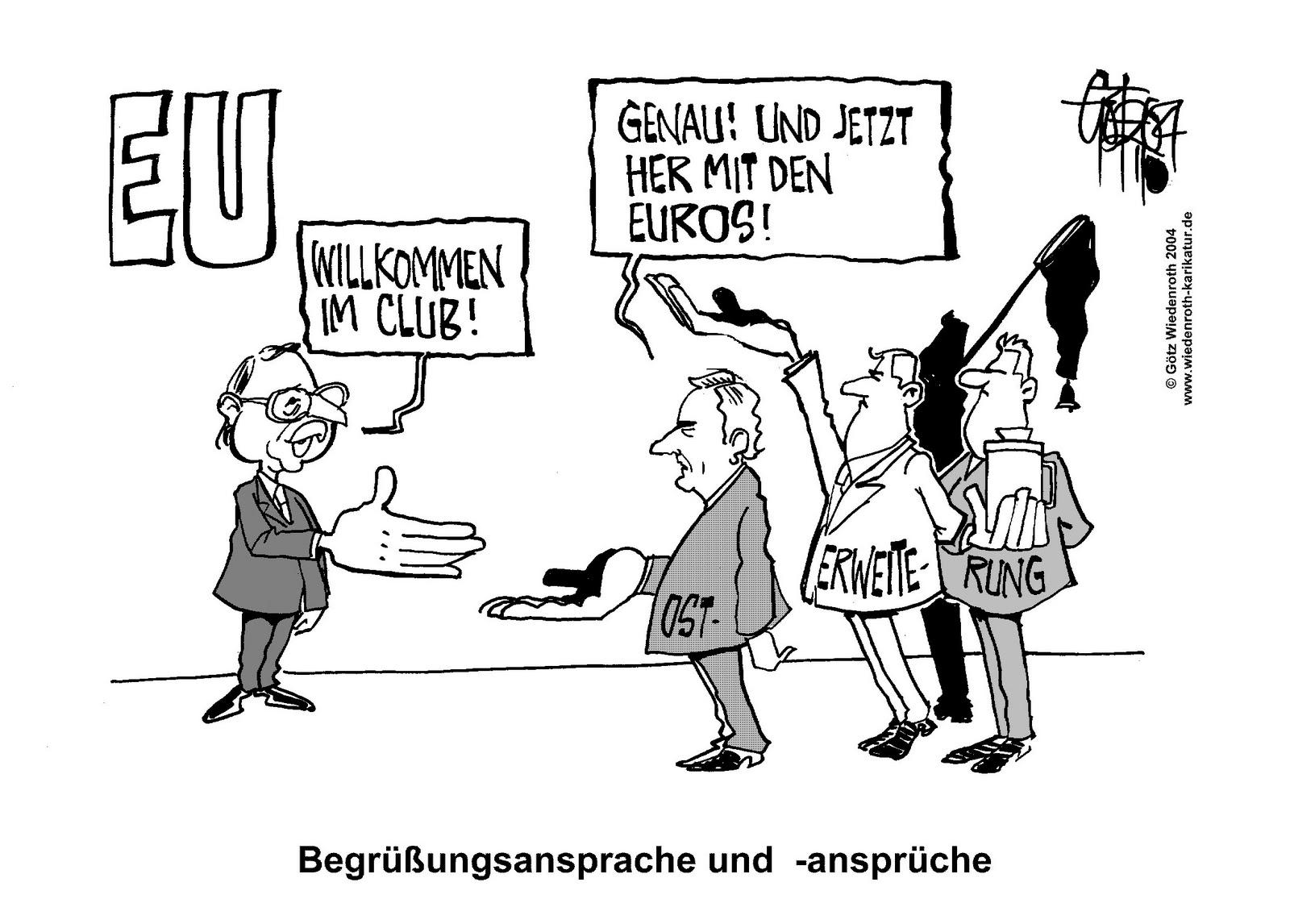Karikatur Eu Erweiterung