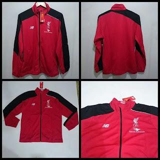 Jaket Liverpool Red Black