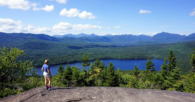 The view from Clear Pond Mountain at Elk Lake Lodge, Saturday 08/20/2016.  The Saratoga Skier and Hiker, first-hand accounts of adventures in the Adirondacks and beyond, and Gore Mountain ski blog.