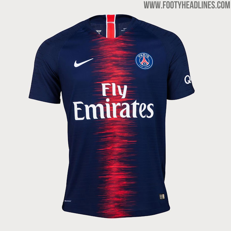 online retailer 39ceb a7c70 PSG 18-19 Home Kit Released - Footy Headlines