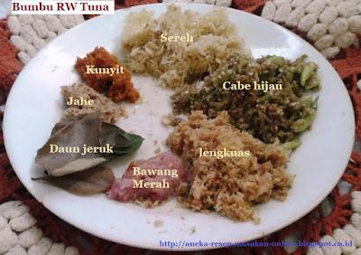 Ikan tuna bumbu RW