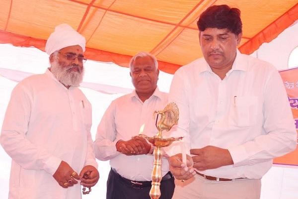 BJP नेता प्रताप सिंह ने बड़ा प्रोग्राम आयोजित कर हजारों लोगों को बताया हिन्दू नव वर्ष का महत्व