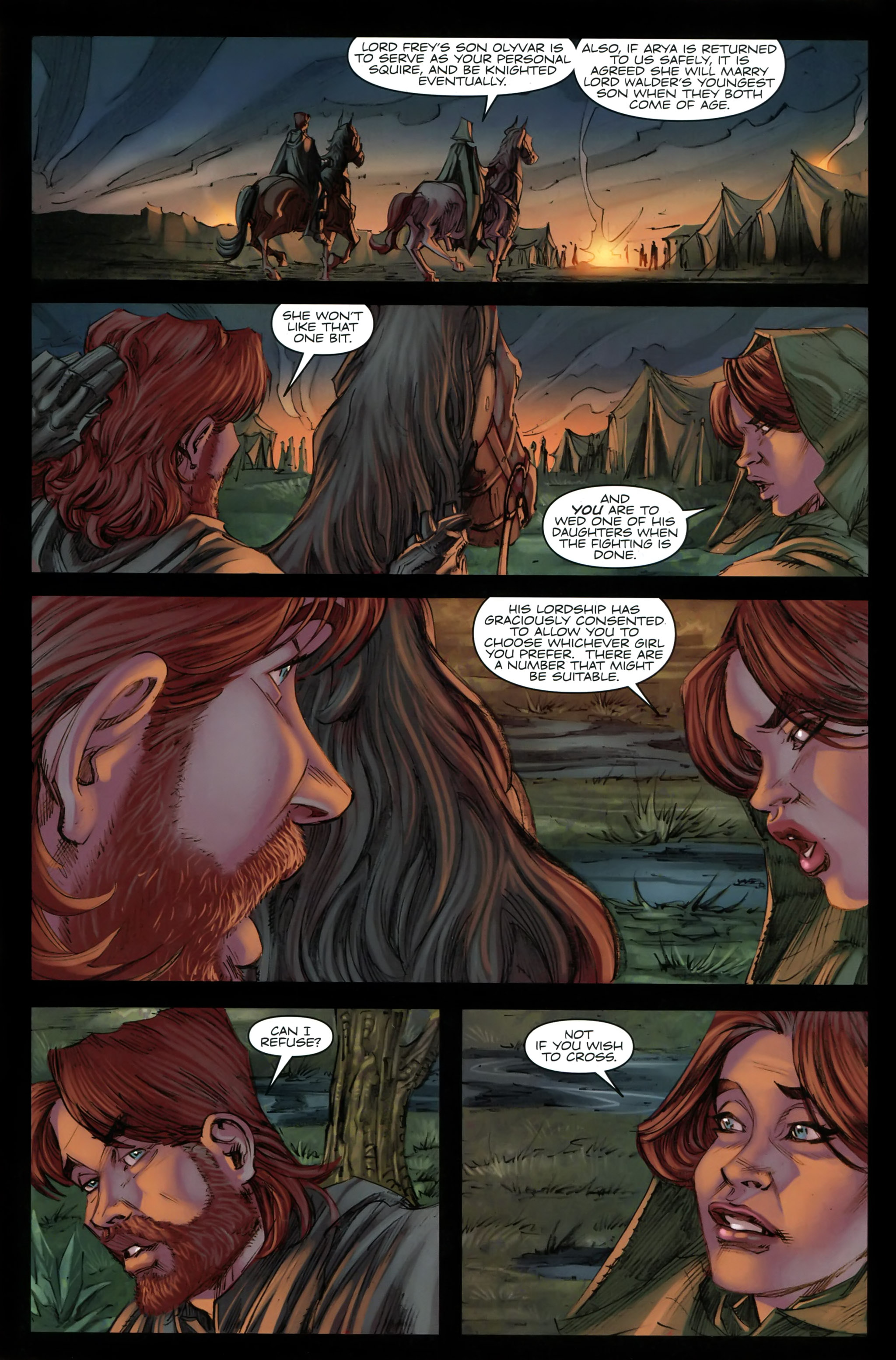 Read online A Game Of Thrones comic -  Issue #19 - 29