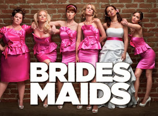 Movie promo from Brides Maids looking ready to party
