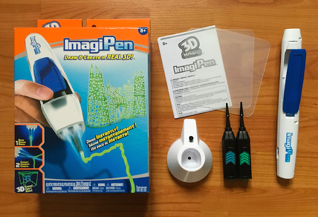 3D Magic ImagiPen - contents