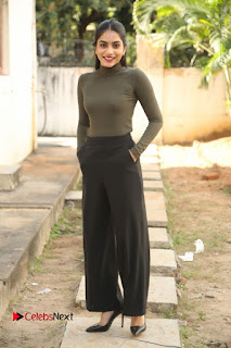 Tollywood Actress Punarnavi Bhupalam Latest Po Gallery in Black Trouser Pant at Pittagoda Movie Interview  0167.JPG