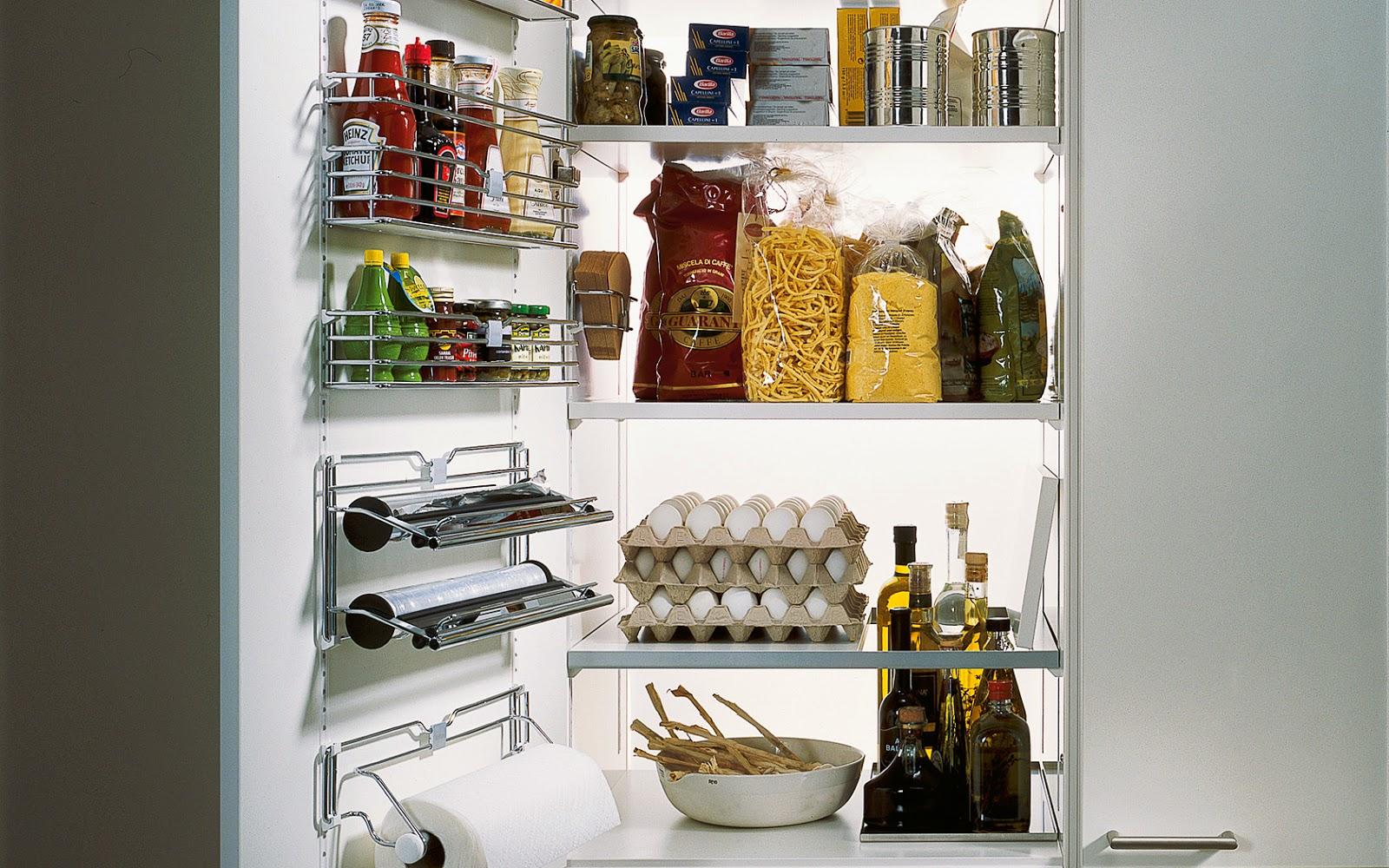 Ideas y accesorios para mantener la cocina en orden - Accesorios para armarios de cocina ...
