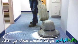 شركة زهرة الوادى - شركة تنظيف سجاد فى حائل