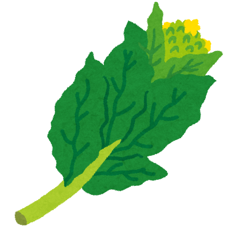 菜の花のイラスト野菜 かわいいフリー素材集 いらすとや