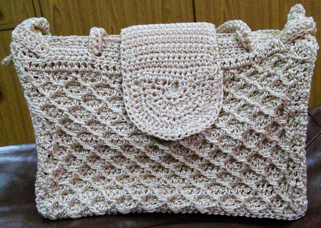 Sweet Nothings Crochet Diamond Bag