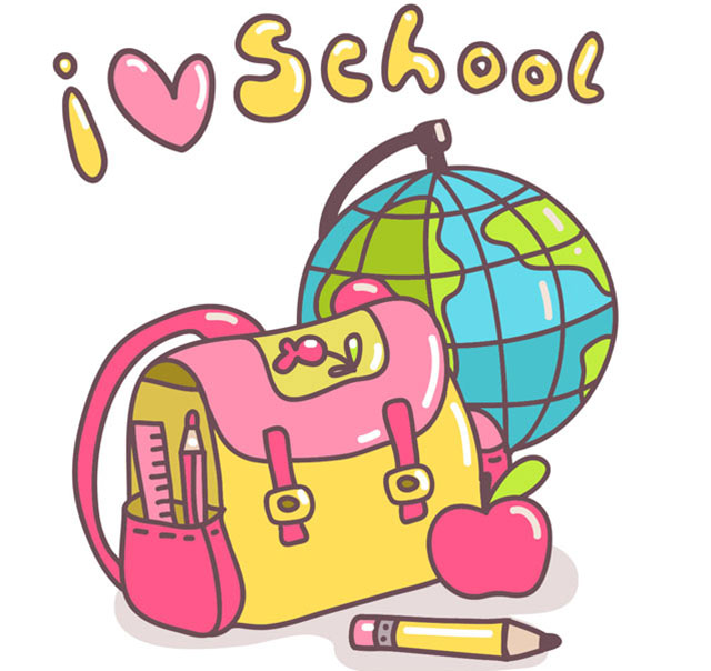 i_love_school_vector