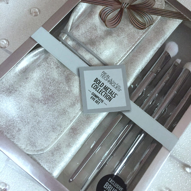 Real Techniques Bold Metals Complete Eye Essentials Set