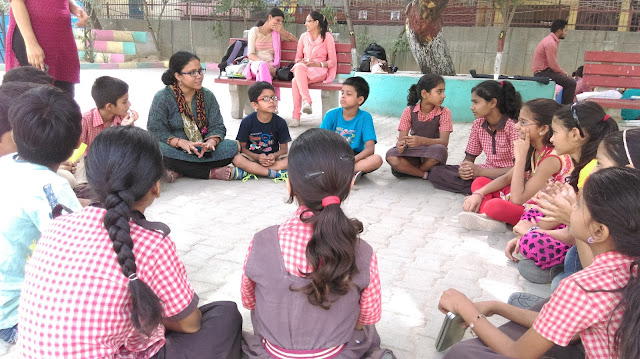 One to One Interaction, blog written for pratham India by Tarun Khullar