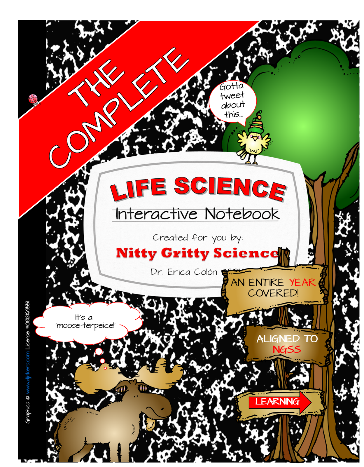 Nitty Gritty Science It S Finally Here The Complete Life Science Interactive Notebook