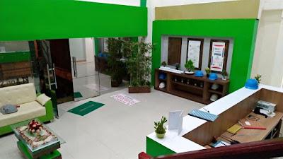 dekorasi interior ruang resepsionis | pt agri sumba mas