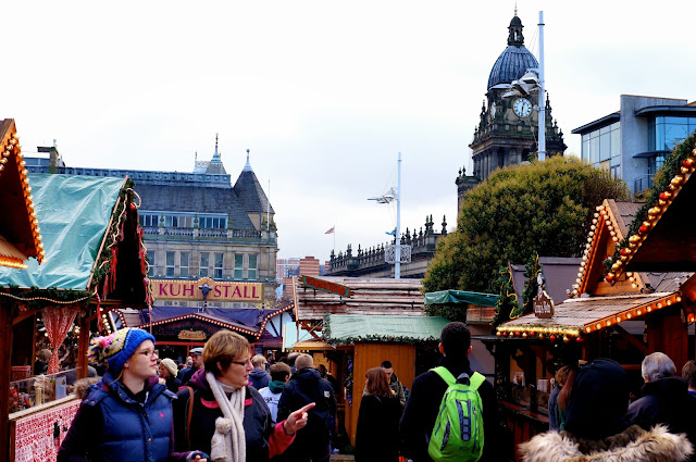 It seems like there are so many more stalls this year... including the markets own Bavarian style restaurant which I must go and review for you all for my ...  sc 1 st  Emtalks & Emtalks: German Christmas Market Leeds: Christmas Kindelmarkt