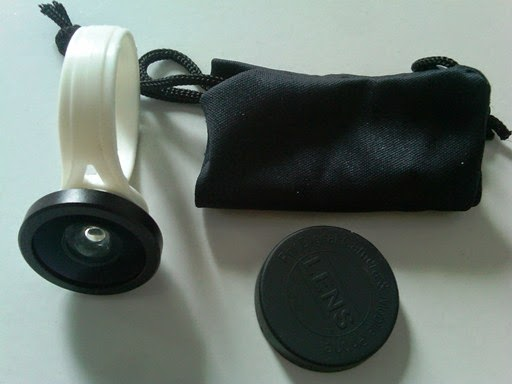 Lensa Fish Eye Clip Bundar