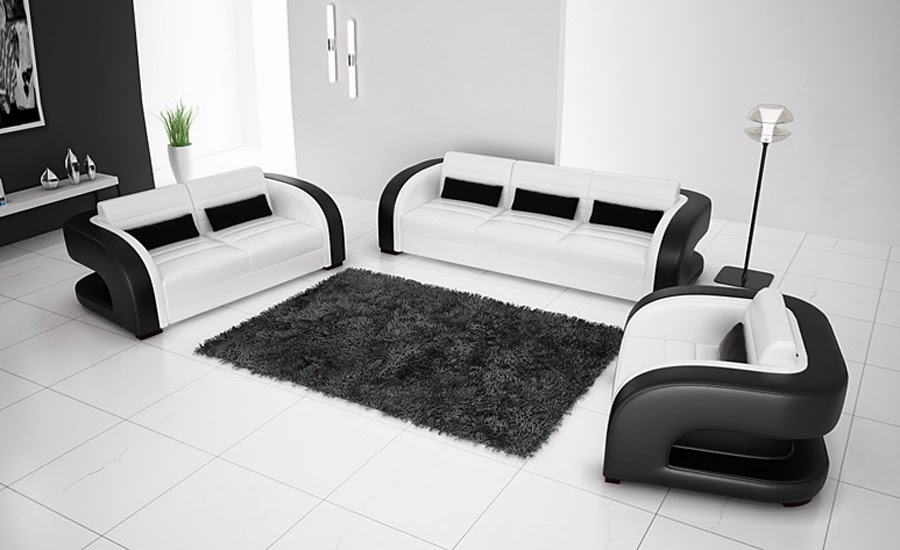 black and white chairs living room hogar 10 top 10 muebles con estilo 24178