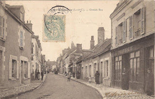 Rue Nationale à Cour-Cheverny