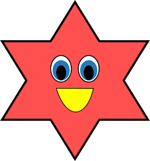 Shapes Free Clipart, Star Shapes Free Clipart