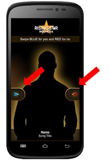cara menggunakan aplikasi voting rising star indonesia