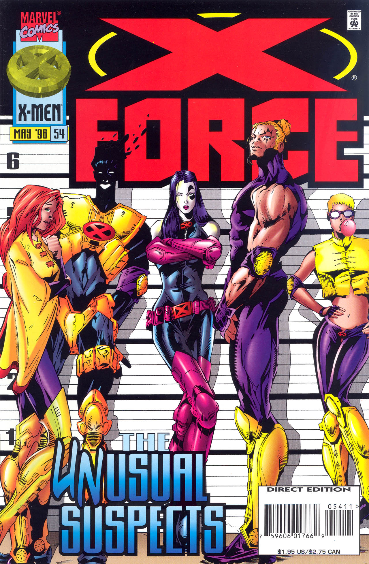 X-Force (1991) 54 Page 1