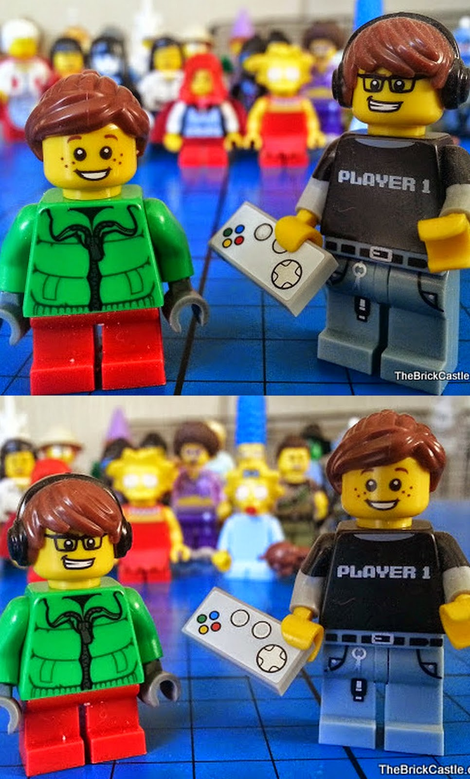 Make a LEGO character female if you want gamer girl
