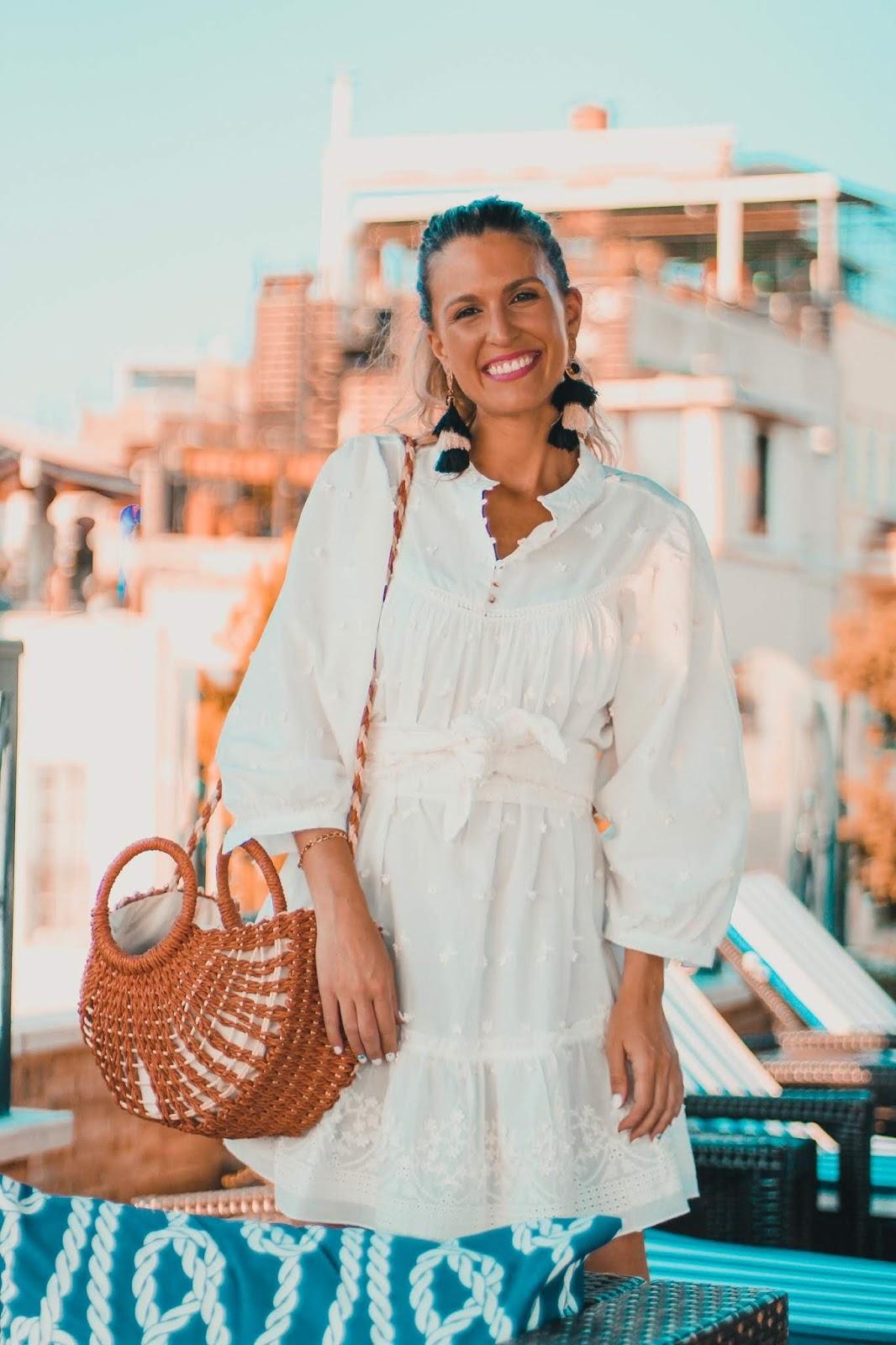 vestid blanco camisero