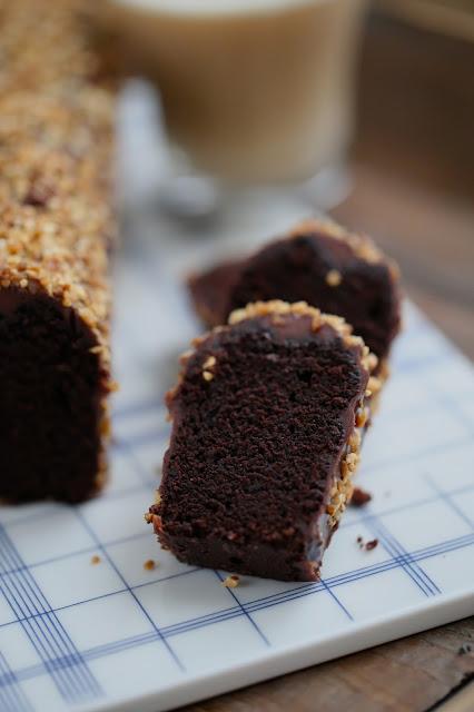 cake moelleux, facile , chocolat noir