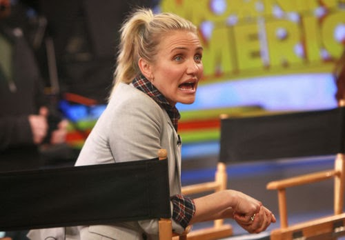 Cameron Diaz reveals spicy details