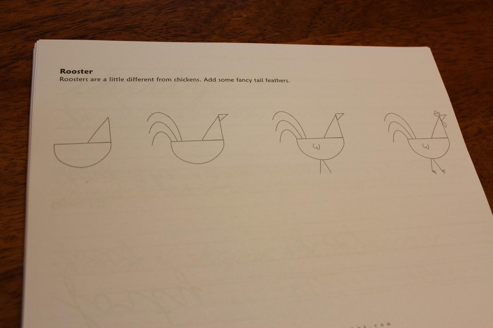 Homeschooling 3 Classical Conversations Prescripts Cursive Words And Drawing Schoolhouse