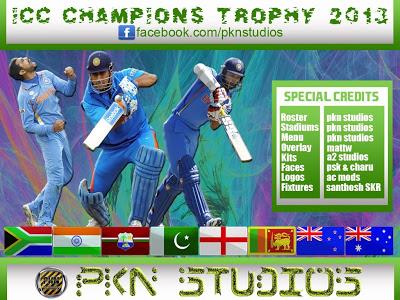 PKN Studioz Champions Trophy 2013 Patch