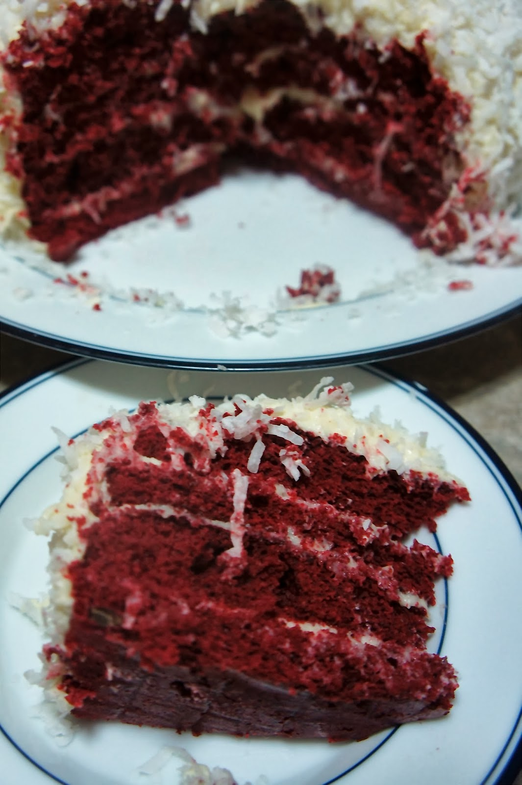 Savory Sweet and Satisfying: Red Velvet Snowball Cake