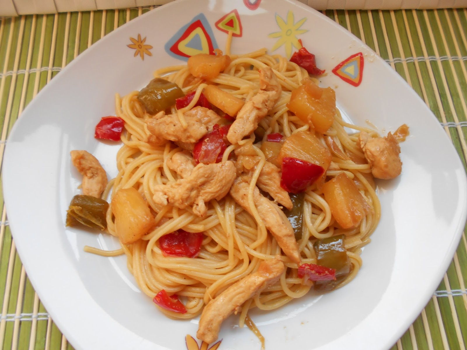 Image Result For Receta Espaguetis Integrales Con Pollo